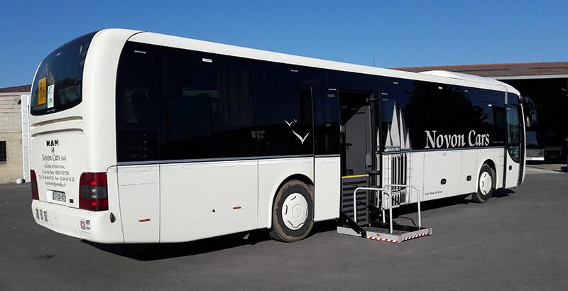 autocar 55 places - voyages organisés en france et dans l'oise
